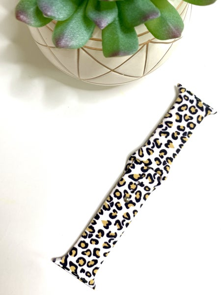 Multi Black & Tan Cheetah Watch Band