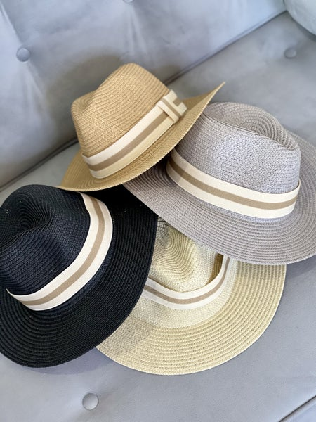 The Banded Panama Hat - 4 Colors