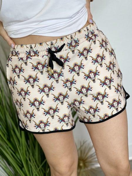 The Everyday Shorts in Bull Skull