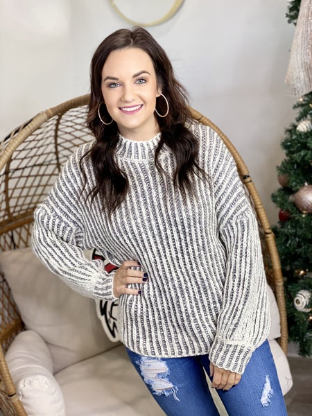 The Chunk Stripe Sweater