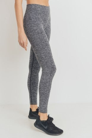 The Ribbed Essential Leggings