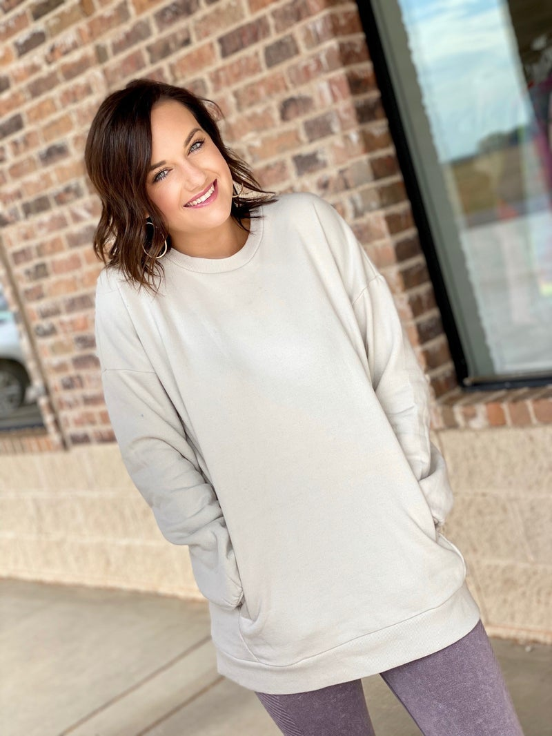STEAL Pocket Pullover- LOTS of Colors