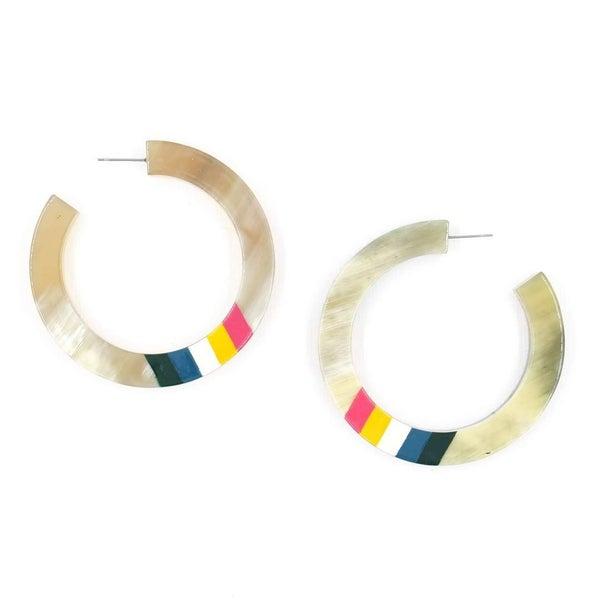 Rainbow Horn Hoops