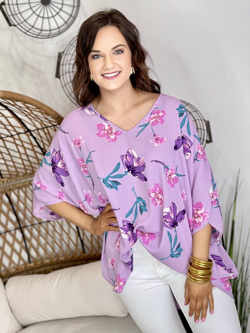 The Spring Fling Poncho Top