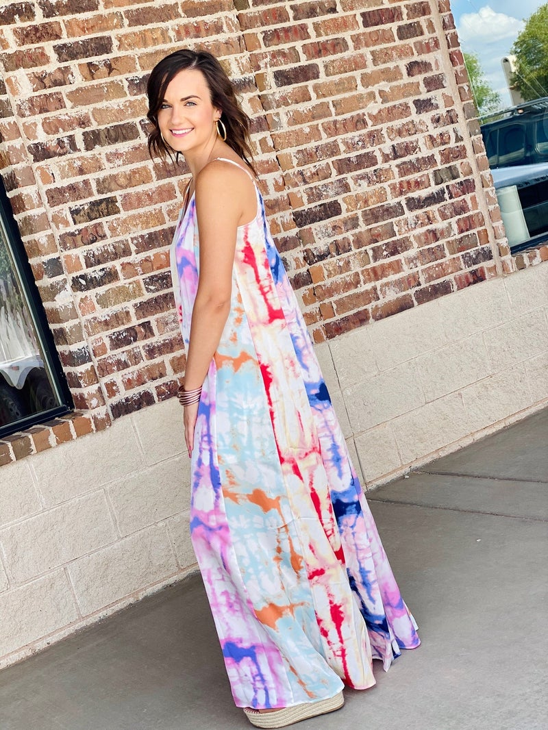 The Colors of Summer Maxi