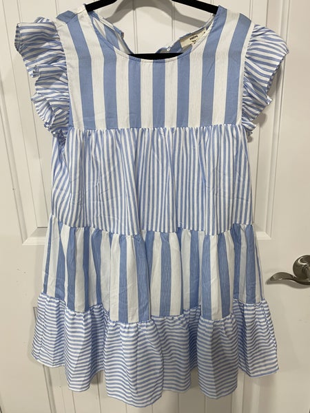 Baby Jane Dress in Blue