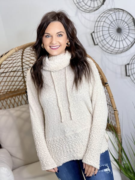 The Toasted Almond Pullover