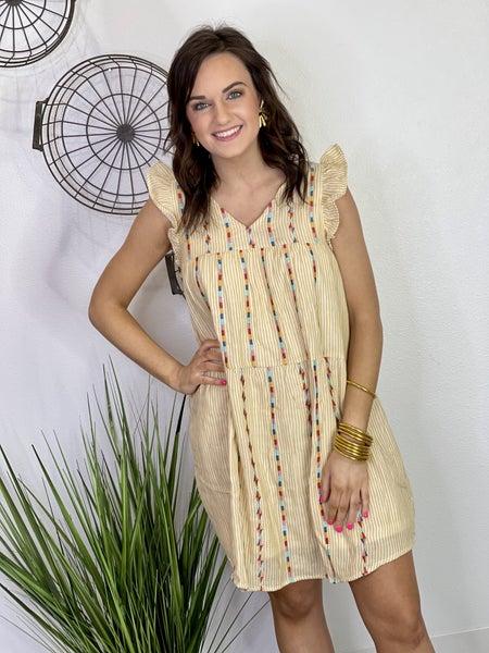 The Mustard Mallie Dress