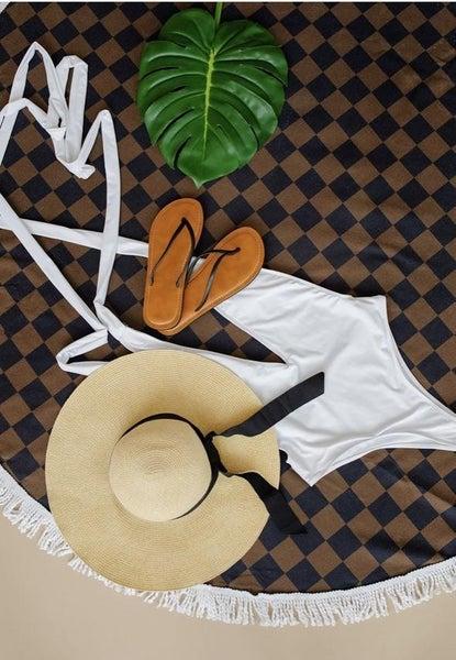 London Check Beach Towels - 2 Styles