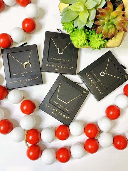 PF Steal #13 - Dainty CZ Necklaces - 4 Styles