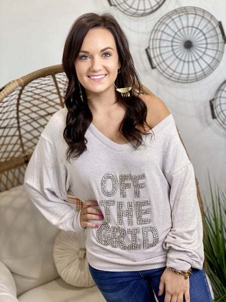 The Off the Grid Sweater