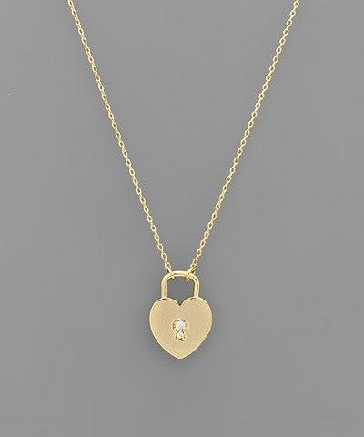 Heart Lock Necklaces