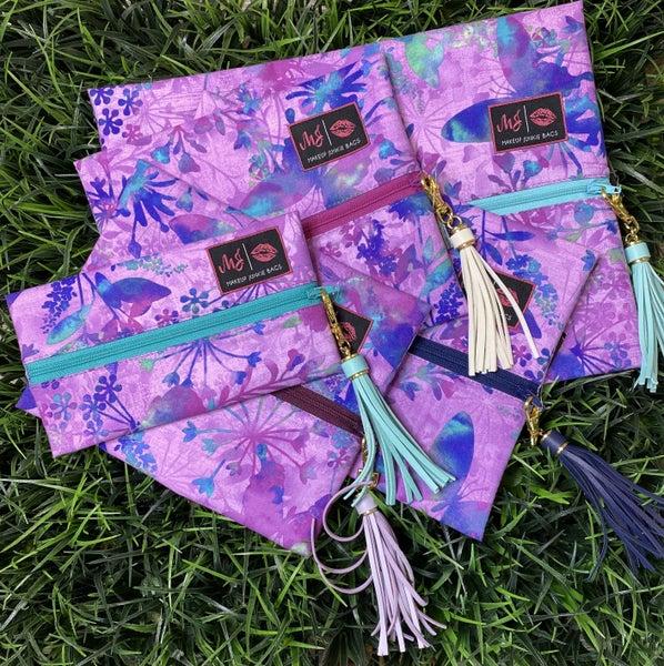 Purple Butterfly MJ Bag