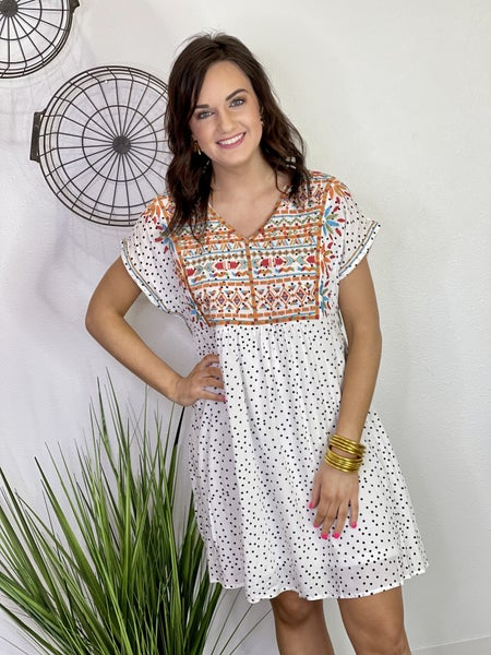 The Daisy Dot Dress