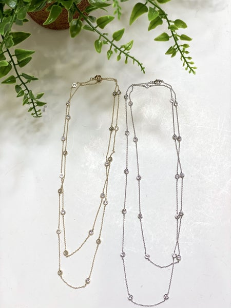 Double Strand Elite Necklace-2 Colors