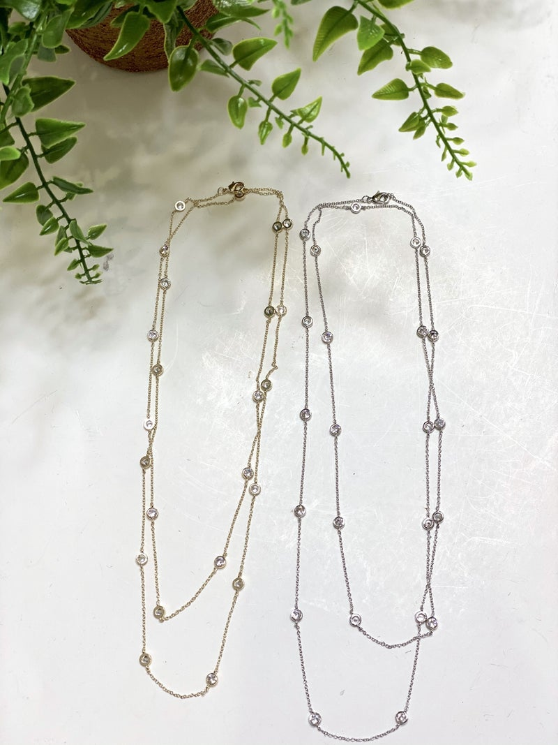 Double Strand Elite Necklace-2 Colors