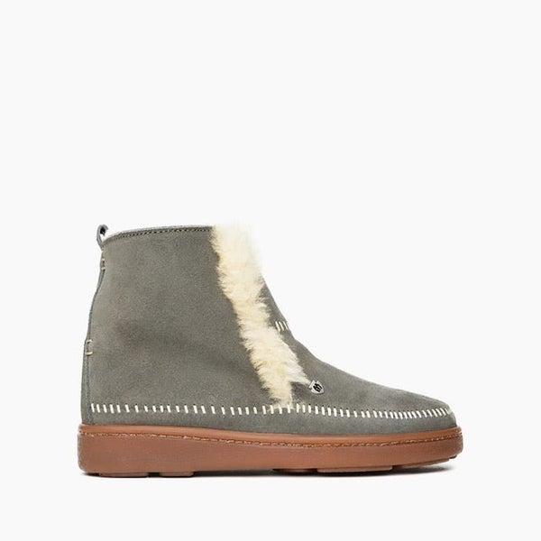 The Jade Sheepskin Boot in Grey