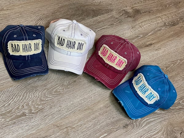 Bad Hair Day Hat-4 Colors