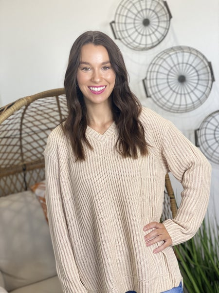The Vintage Rose Sweater