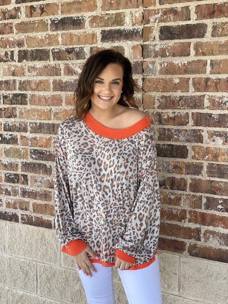 The Coral Cougar Top