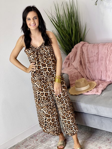 The Loose Leo Jumpsuit - All Sizes
