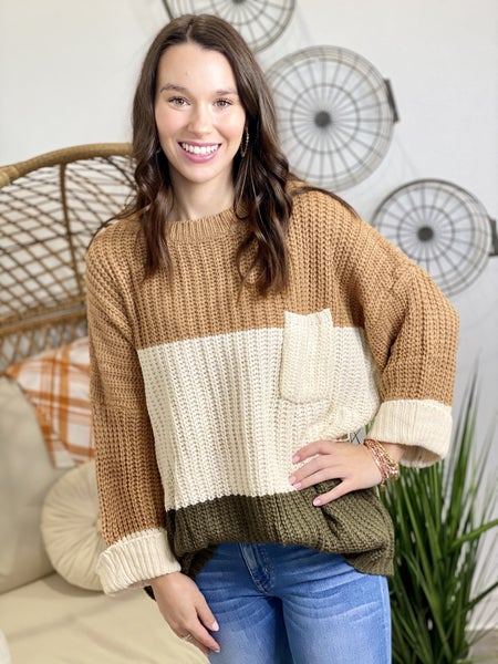 The Toffee Chunk Sweater
