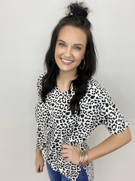 The Cheetah Babe Top in All Sizes