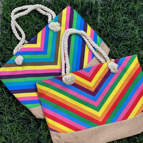 The Chevron Summer Tote