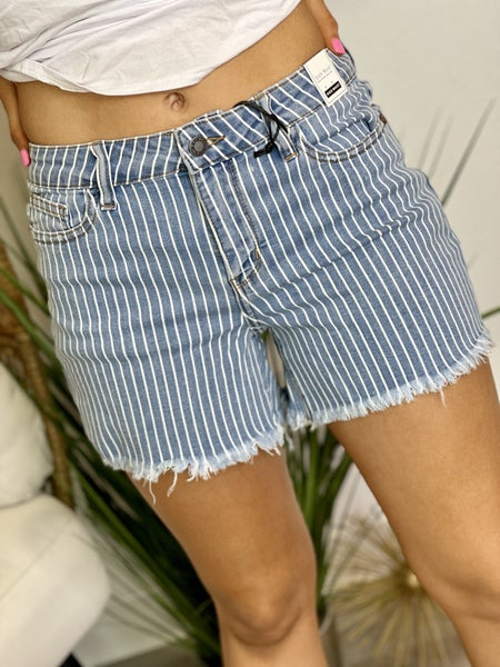 The Pinstripe Perfection Shorts