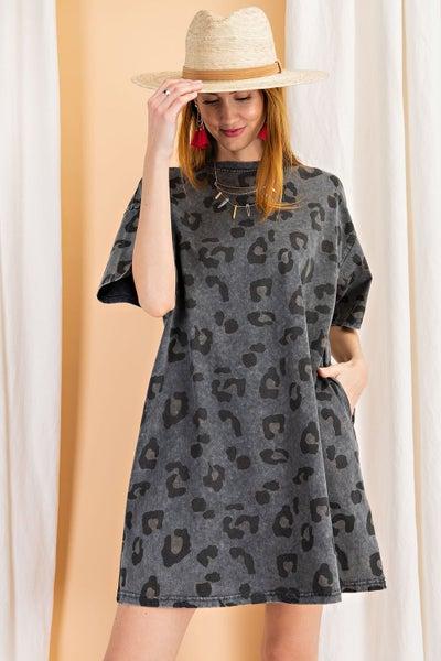 The Dried Leo Grey Dress