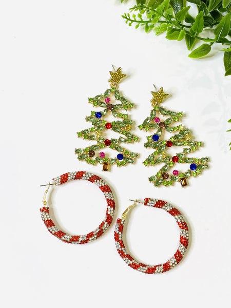LD STEAL 67-Christmas Earrings 2 Styles