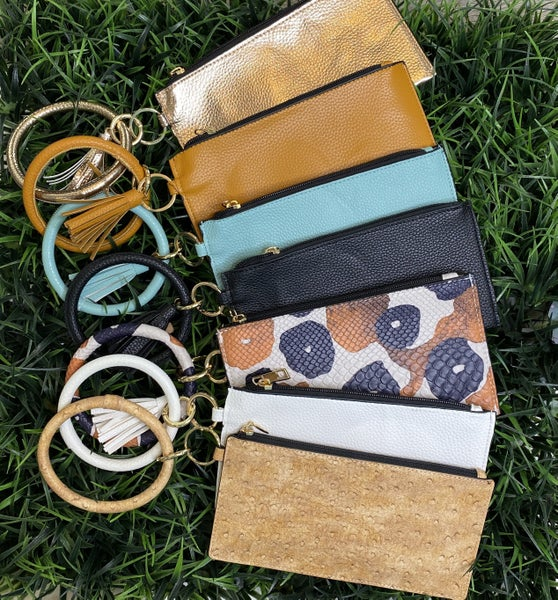 Wallet Key Chains- 12 Colors