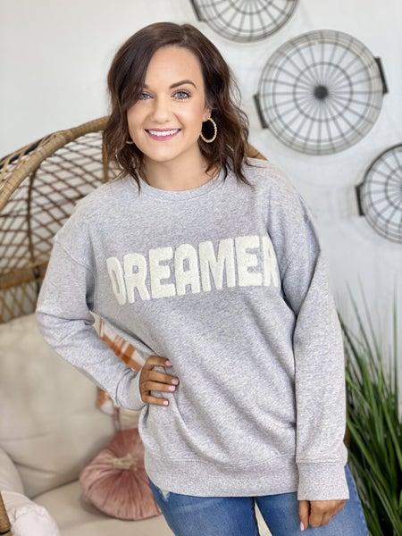 Dreamer Applique Pullover