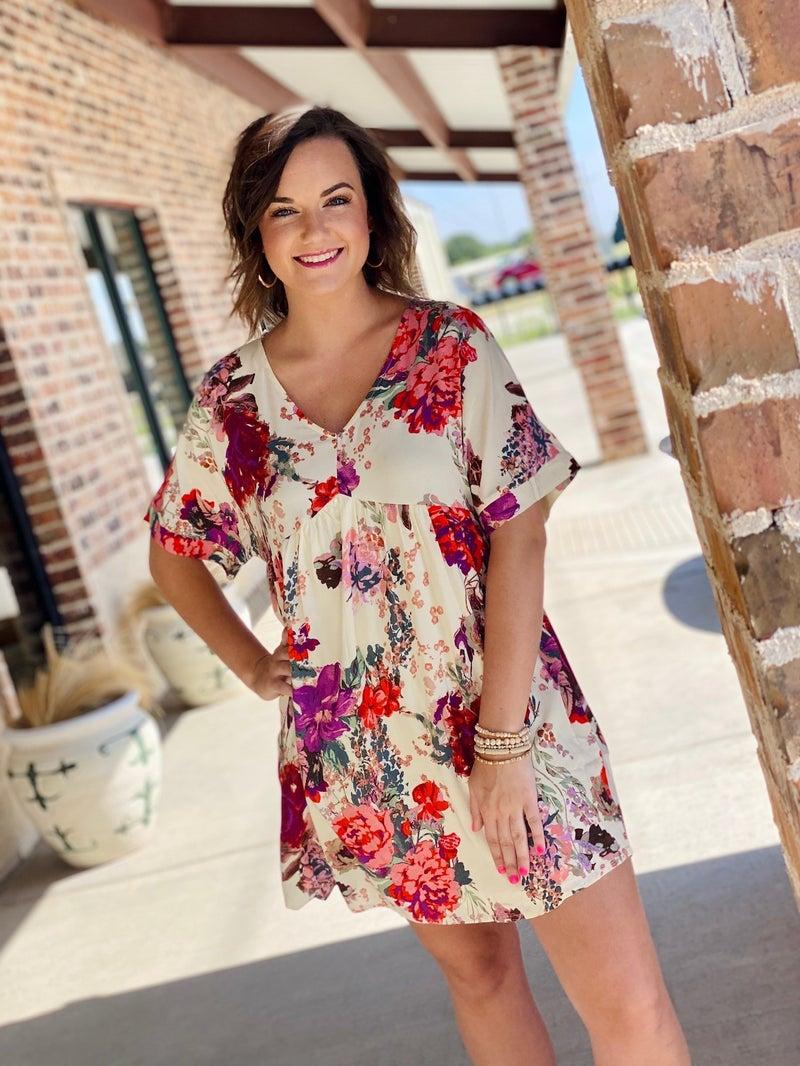 The Summer Floral Babydoll Dress