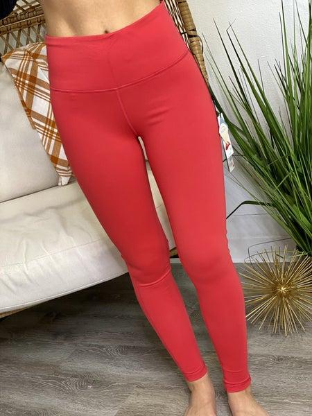 The Red Essential Leggings