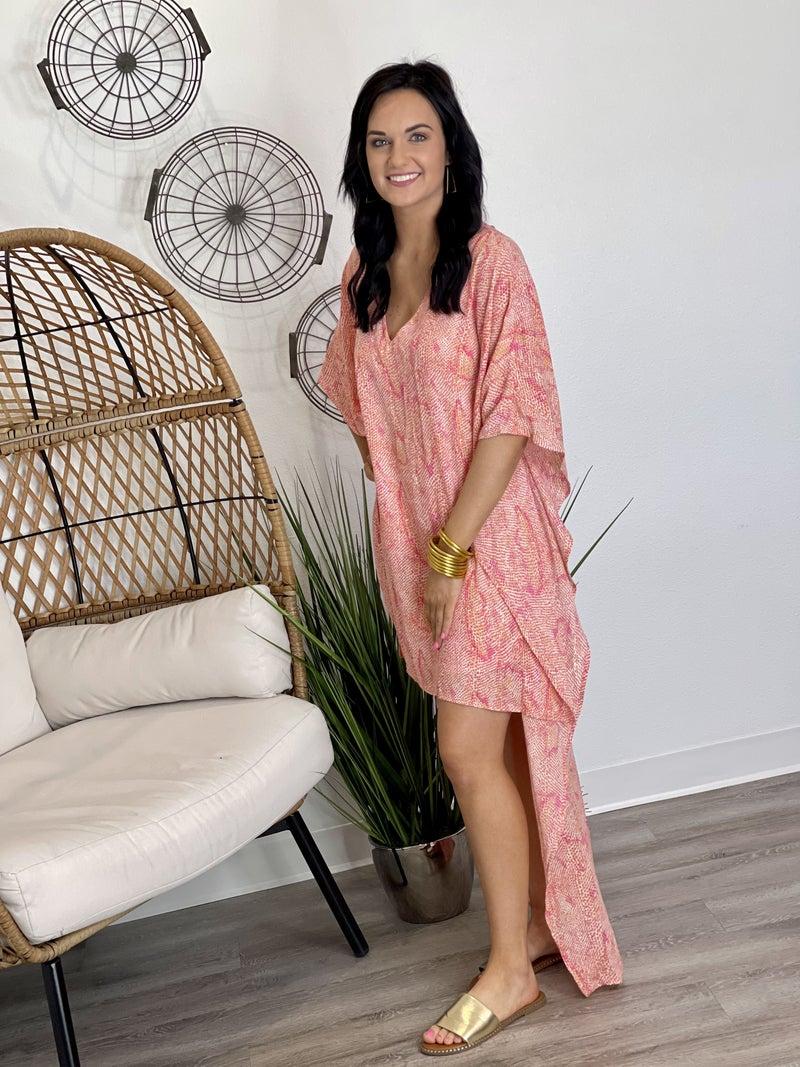 The Tuscan Sunset Hi-Lo Dress