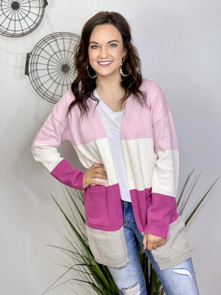 The Pink Lady Cardigan - All Sizes
