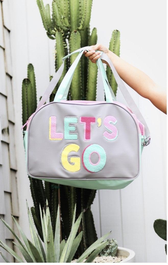 Let's Go Duffle Bag