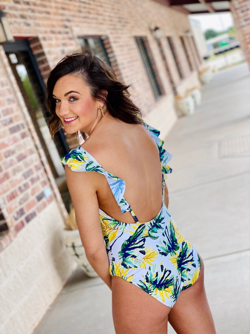 The Tropical Swimsuit