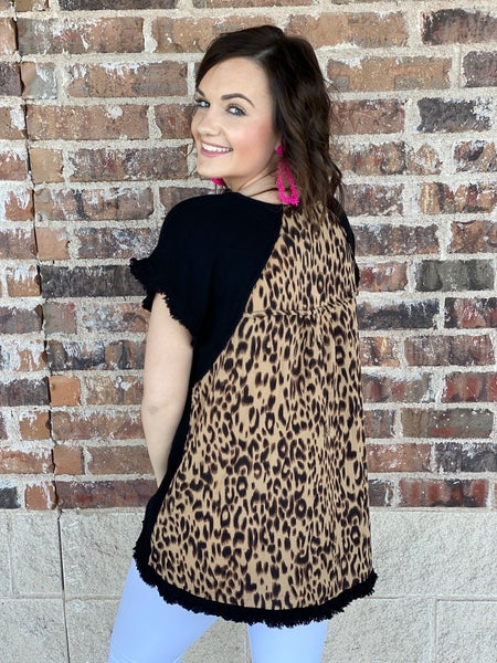 -The Leo Back Top