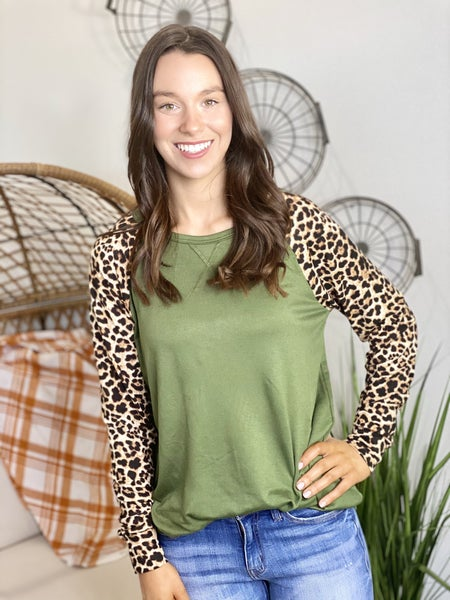 PF Steal #64-The Leo Olive Top
