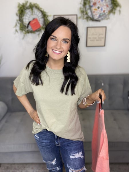 The Vintage Life Top in 2 Colors - All Sizes
