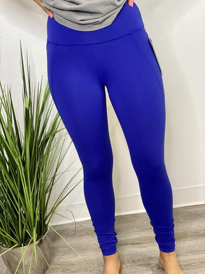 The Gold Medal Leggings in Royal Blue