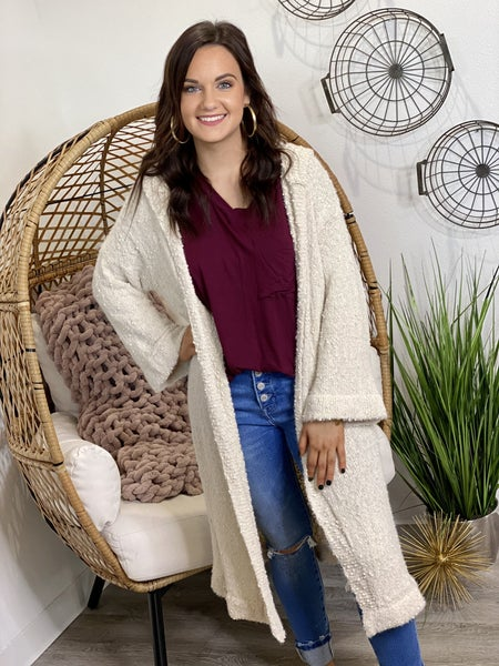 The Hooded Anna Cardigan