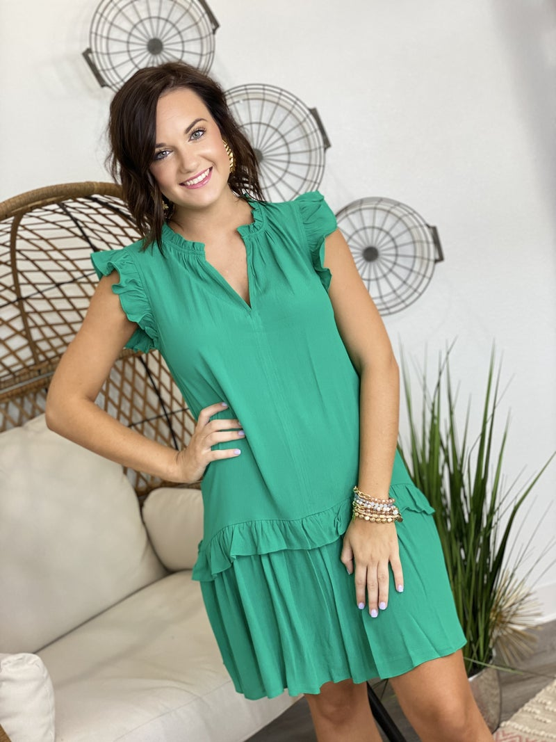 Ladies Who Lunch Dress in Green