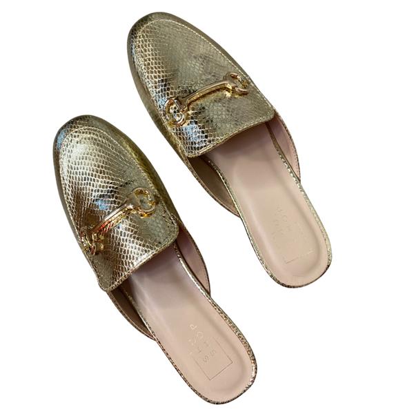 The Talisa Gold Slides