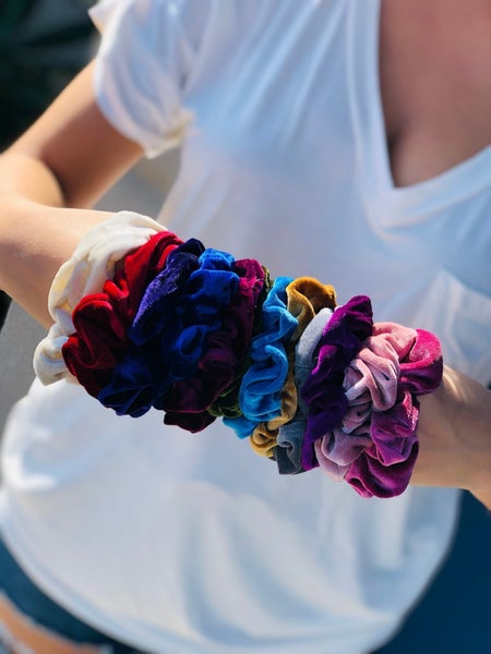 Velvet Scrunchies-14 Colors