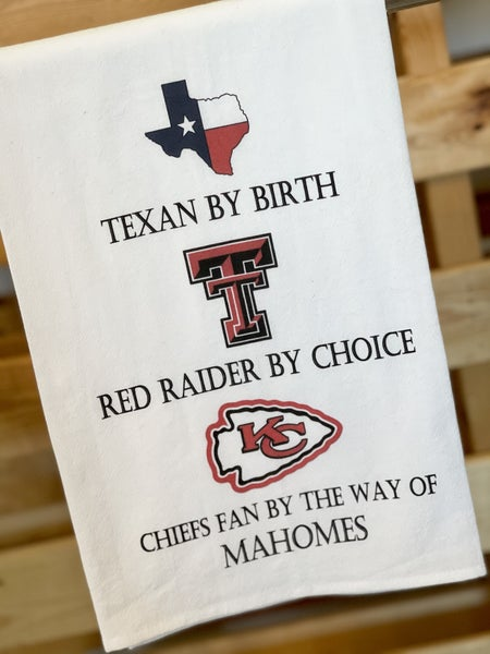 Mahomes Tea Towels