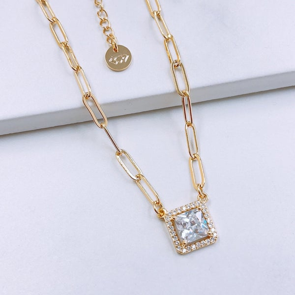 TJ Dainty Necklaces-7 Styles