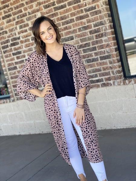 Mauve Sport Kimono